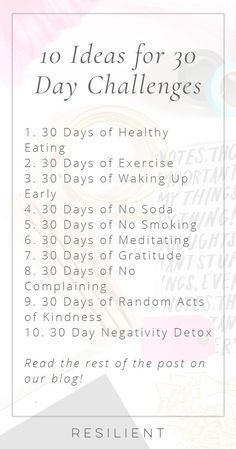 You can accomplish a lot in just 30 days, and based on some studies, you can form a new habit too. There are lots of ways to change your life, and a fun way to kickstart the changes is with a 30 day challenge. Here are 10 ideas for 30 day challenges. 30 Tag, Happiness Challenge, Stomach Ulcers, Coconut Health Benefits, Yolo, Yoga Inspiration, Style Inspiration, Self Improvement, Self Help