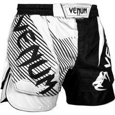 Venum Light 3.0 MMA Fight Shorts Black//White