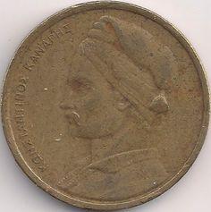 Motivseite: Münze-Europa-Südosteuropa-Griechenland-Drachme-1.00-1976-1986