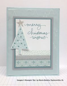 Holiday One-for-One Swap, Stampin' Up!, by Karla Endris