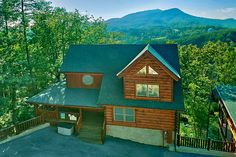 57 Best Views From Aunt Bug S Cabins Images In 2019 Smoky