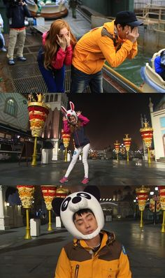 Jessica and Eun Ji Won join the 'animal kingdom' on the upcoming episode of 'Running Man'