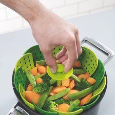 Lotus Plus Folding Non-scratch Steamer Basket,PP,Kitchen Cooking Tool Cookware For Fruit,Vegetable Steamer Basket Lotus, Cool Kitchen Gadgets, Cool Kitchens, Kitchen Tools, Kitchen Items, Cooking Tools, Cooking Recipes, Vegetarian Recipes, Vegetable Basket