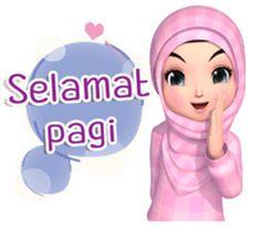Meet sweet girl Amarena Muslim hijab cute and lovely girl, to cheer up your daily conversation. Love Is Cartoon, Cute Love Cartoons, Anime Muslim, Muslim Hijab, Emoji People, Cute Drawings Of Love, Animated Emoticons, Hijab Drawing, Pray Quotes