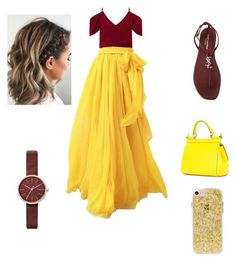 """""""Summer outfits"""" by paolad1202 on Polyvore featuring Roland Mouret, Yves Saint Laurent, Skagen and Dolce&Gabbana"""