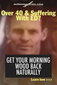 Over 40 & Suffering with ED? Get your Morning Wood back naturally. Learn How >>> Tips Nitric Oxide Benefits, Natural Remedies For Ed, High Testosterone, Morning Wood, English Words, Drugs, The Cure, Men Health