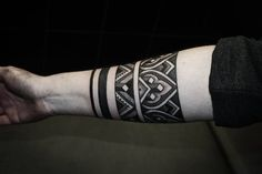 Black, dotwork and lines - by Alexis Calvié ( Black Heart Tattoo ).