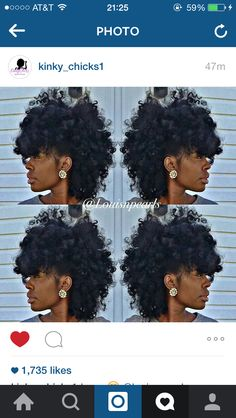 curly mohawk Natural Hair Mohawk, Curly Mohawk Hairstyles, Ethnic Hairstyles, Natural Hair Tips, Natural Hair Styles, Kinky Curly Hair, Curly Hair Styles, Mohawk Styles, Big Afro