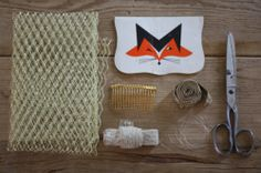 17 Apart: How To: Make a DIY Birdcage Veil for Your Wedding