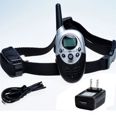 Dog Training Collar With Remote - 8 Levels of Shock and Vibration Correction Plus Sound Mode - Fully Adjustable Electric E Collar With Remote for Large, Medium, and Small Dogs - Best Puppy Training and Dog Obedience Training for one dog * Check out the image by visiting the link. (This is an affiliate link and I receive a commission for the sales)