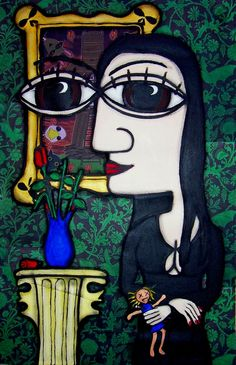 Morticia Addams by Billy Beaumont