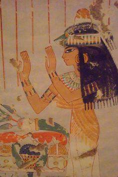 Ancient Egyptian Murals at the Metropolitan Museum of Art in New York (2) by mharrsch, via Flickr