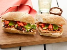 Grilled Shiitake and Tofu Banh Mi — Meatless Monday | FN Dish – Food Network Blog