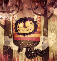 Terrible Yellow Eyes by Alberto Cerriteno, via Behance