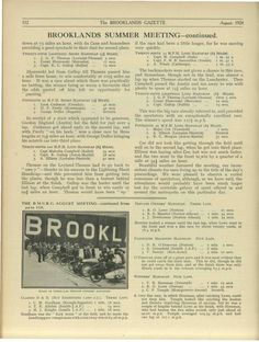 Motorsport Magazine. BMCRC Brooklands August Meeting - Part 2.