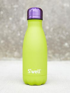 I've wanted a swell bottle for so long Water Bottle Online, Swell Water Bottle, Cute Water Bottles, Water Bottle Design, Water Well, Insulated Water Bottle, Mug Cup, Drinking Water, Green And Purple