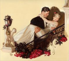 TOM LOVELL _American_ 1909-1997__ Up the Staircase_ 1942