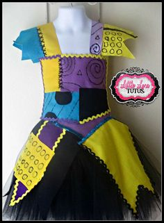 Sally Nightmare Before Christmas Costume  Jack by LittleLocaTutus, $35.00