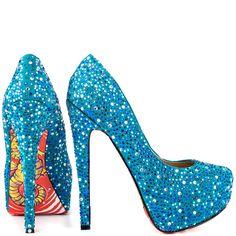 Fabulosos zapatos de tacón para fiestas   Moda y Tendencias