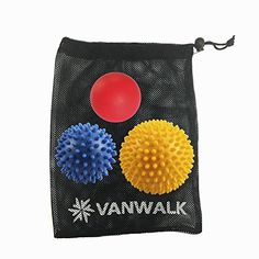 Foot Hand and Back Massage Balls (3 Pack) - Lacrosse and ...
