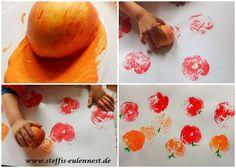 Kleine Kunstwerke im Herbst