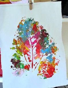 Kleas big leaf printing