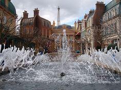 Epcot - France fountain by splashtodd, via Flickr