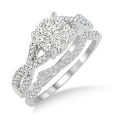 I like the way the wedding band fits the engagement ring @Diamond Zul