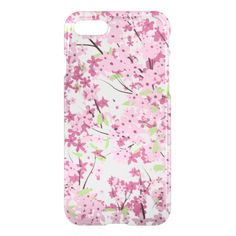 Cherry Blossom iPhone 7 Clear Case