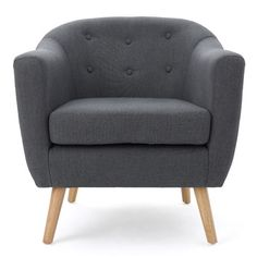 Langley Street Mira Luna Barrel Chair & Reviews | AllModern