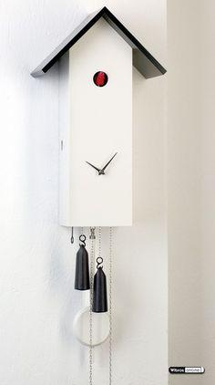 Moderne Kuckucksuhr (8-Tage)  41cm - Zeit daheim - SL351