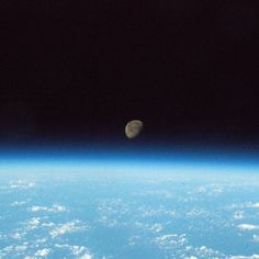 From the vantage point of the International Space Station (@ISS), astronaut Shane Kimbrough (@astro_kimbrough) captured this image of a moonrise over the Earth and wrote, 'Good night from Space Station.' Credit: NASA  #nasa #iss #space #moonrise #earth #spacestation #astronauts #moon