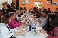 """Comida del Grupo en el Restaurante """"La Montanera"""" en las cercanias del Centro de Investigación"""