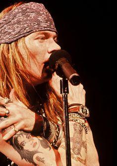 W. Axl Rose-Guns N' Roses...........