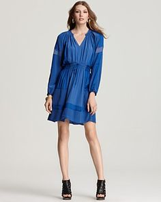 Rebecca Taylor Dress Cobalt