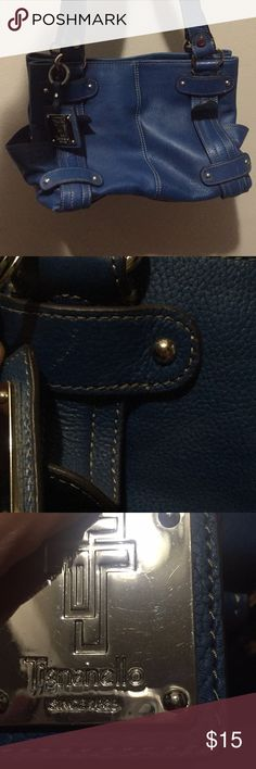👜Dark blue Tignanello purse in good condition 👜Dark blue Tignanello purse in good condition  - I am selling this purse for my very stylish grandma! 😊 - please done Hesitate to ask me any questions! - it is in good condition and it is ready to go to a caring home! - PRICE is FIRM - Thank you ❤️❤️❤️ Tignanello Bags Shoulder Bags