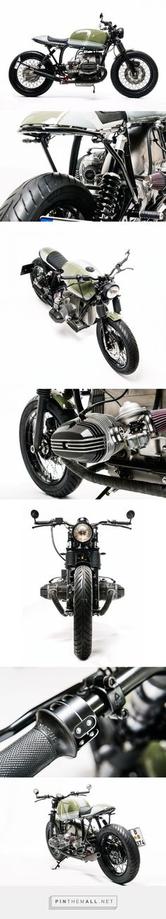 Custom BMW R80 monolever built by Urban Motor of Berlin. Click to read more about: