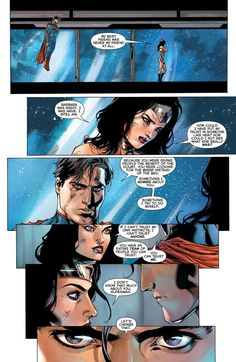 scans_daily | Justice League #14: Wonder Woman And Superman Go On A Date.