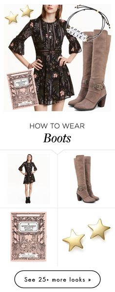 """""""Fergie Footwear: Truffel DUNE Boots"""" by jennmelby on Polyvore featuring Olympia Le-Tan, Venessa Arizaga and Bloomingdale's"""