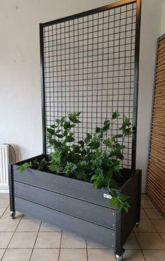 Rooftop Garden, Balcony Garden, Small Garden Design, Patio Design, Cinder Block Garden, Garden Screening, Vertical Garden Diy, Diy Garden Furniture, House Plants Decor