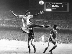 History: Real Madrid overcame a deficit when they played Derby County in the European Cup in 1975 Real Madrid, Dave Mackay, Derby County, European Cup, Mission Impossible, Old Things, Ballet, Football, History