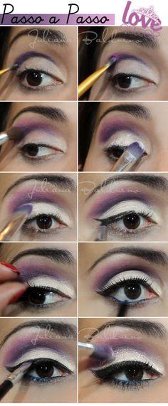 maquiagem-rosa-e-roxo
