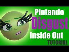 Pintando cara Desagrado Intensamente - Painting Disgust's face Inside out - YouTube