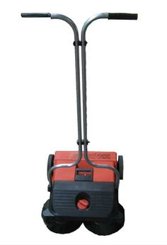 Haaga Rotary Brush Sweeper for Movie Theater: Haaga sweeper with two rotating brushes