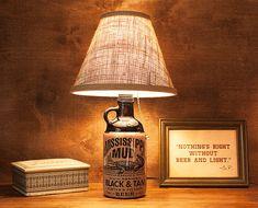 Mississippi Mud Lounge Lamp