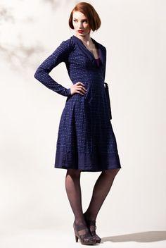 Scarf Wrap Dress | Stewart + Brown