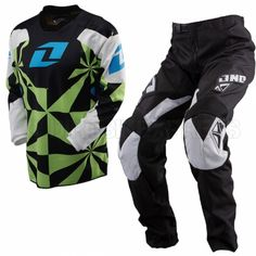 2013 One Industries Kids Carbon Kit Combo - Hypno Green  Young athletes look up the their older peers in motocross more so than any other sport. They emulate the pro's riding styles and the way they wear their gear down to the finest detail. It's never too early to start learning how to be fast, and kids can knock out the look in one fell swoop with the Carbon Youth line of riding gear.