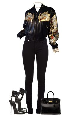 """""""riich"""" by frenchwife ❤ liked on Polyvore featuring Burberry, Vittorio Ceccoli and Giuseppe Zanotti"""