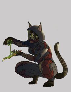 TES art,The Elder Scrolls,фэндомы,Каджит,TES расы,Skyrim,Тёмное Братство,meldrumart