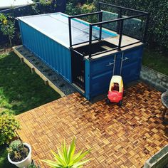 Would You Get a Shipping Container Pool? | Poppytalk